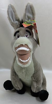 "12"" Donkey SHREK 2  Plush Stuffed Animal New with Tags DREAM WORKS"