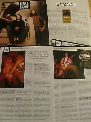 High on Fire, Surrounded By Thieves, Six Page Clipping