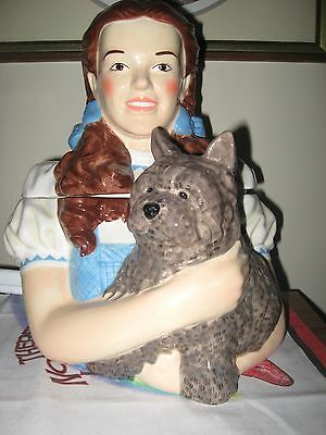 Limited Edition Wizard Of Oz Dorothy&toto Bust Cookie Jar & Box & Numbered -1330