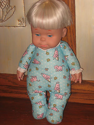 Drowsy Doll 1999 In Blue Pj Talking Says 6 Phrases Works,sounds Great And Clean