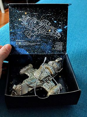 FIREFLY Official Licensed Deluxe SERENITY Spaceship Christmas ORNAMENT Replica