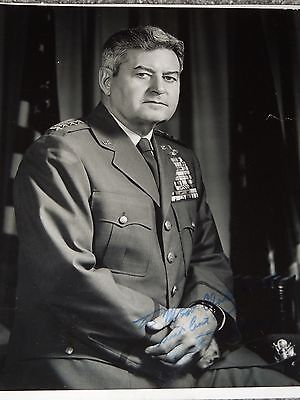 General Curtis LeMay Signed Autographed 8x10 Photo ORIGINAL US Air Force CoS