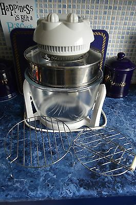 Halogen Oven with Accessories and Recipe Books