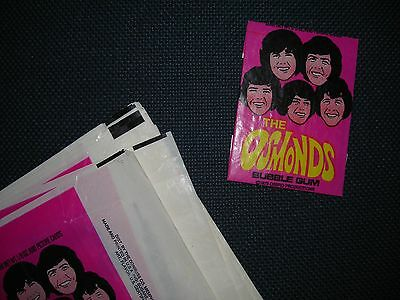 The Osmonds Trading Card Wax Wrapper Vintage Donruss 1973