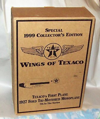 Wings of Texaco 1927 Ford Tri-Motored Monoplane/1999 Special Edition/Die-Cast