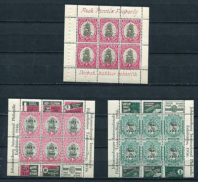 South Africa 1933,1936  Sc 48J MH salvage+Sc 72-3 overprinted stamps JIPEX 1936