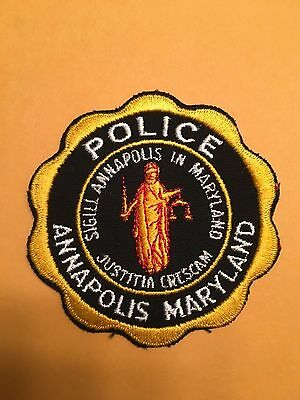 Annapolis Maryland  Police  Shoulder Patch