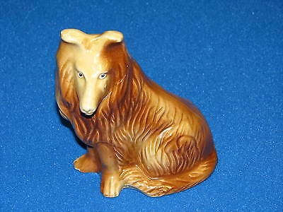 Collie Lassie Dog Handcrafted Collectibles Ceramic China Border Figure Figurine