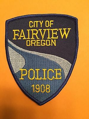 City Of Fairview Oregon Police  Shoulder Patch