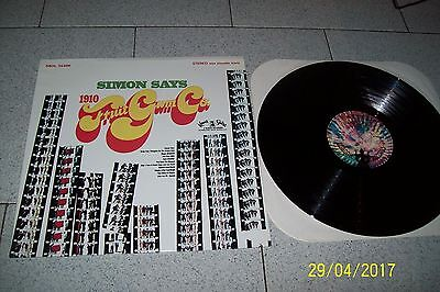 1910 Fruit Gum Co. Simon Says Lp /buddah Records Sbdl 55006/1968 Italy 1° St.