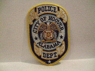 police patch CITY OF HOOVER POLICE ALABAMA