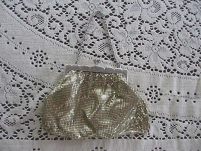 Vintage Glomesh style Gold evening , 1970s era in  very good condition