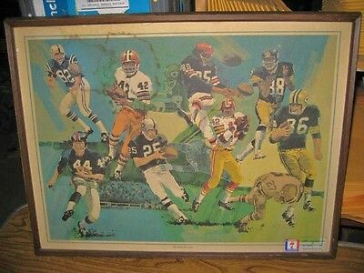 Seagram's Famous Wide Receivers - Dick Mahoney, 1976 VINTAGE Football