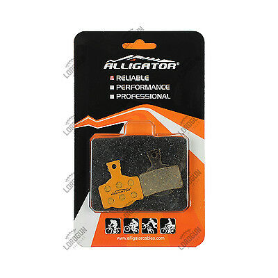 Pastiglie Freni Disco Alligator Magura Mt 2-4-6-8 Organiche Organic Brake Pads