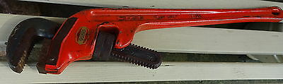 Ridgid 24 inch Offset Heavy Duty E24 Pipe Wrench 3 inch Pipe Capacity