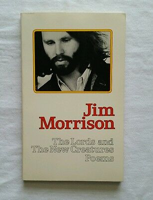 """Jim Morrison ( The Doors ) """" The Lords and The New Creatures """" 1st printing"""