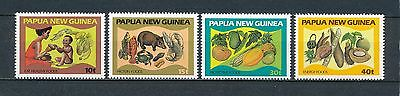 Papua New Guinea  562-65 MNH, Food & Nutrition, 1982