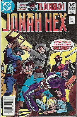JONAH HEX #57  Feb 1982