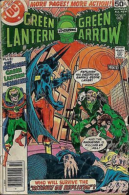 GREEN LANTERN #109  Oct 1978 with Green Arrow
