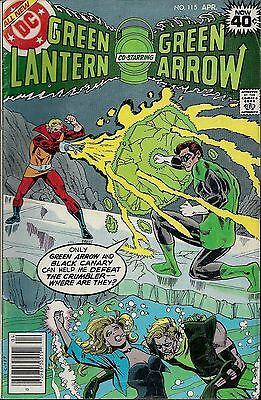 GREEN LANTERN #115  Apr 1979 with Green Arrow