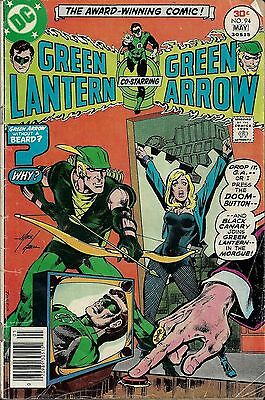 GREEN LANTERN #94  May 1977 with Green Arrow