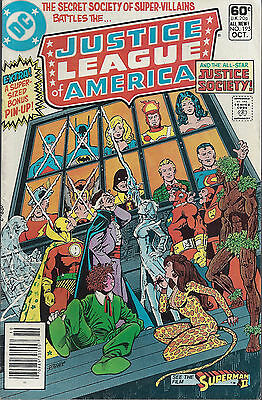 JUSTICE LEAGUE OF AMERICA #195  Oct 1981