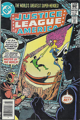 JUSTICE LEAGUE OF AMERICA #199  Feb 1982