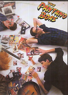 THE PANTANO BOAS - Full Blood Crash - LP - 1987