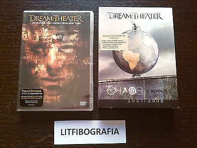 DREAM THEATER - Chaos In Motion 2DVD+3CD + Scenes From New York DVD