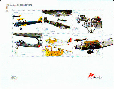 Portugal S / S  75 Years Portuguese Air Force (1999)    Mnh(**)
