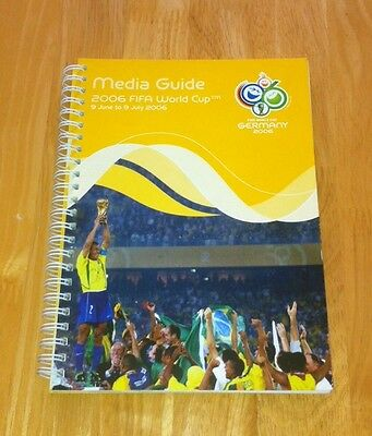 Rare 2006 World Cup Media Guide (Germany 2006) Excellent Condition