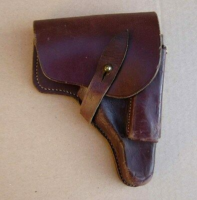 Original WW2 WWII German ally leather holster for Walther PP pistol