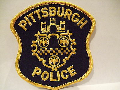 police patch  PITTSBURGH POLICE PENNSYLVANIA