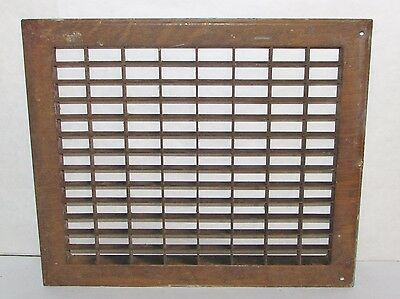 Antique Steel Architectural Heat Grate Register Vent 12 x 14