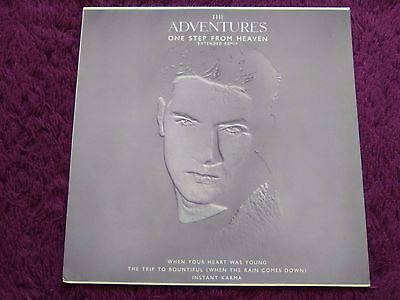 """The Adventures – One Step From Heaven ,  Vinyl, 12"""",1988 , Germany ,EKR 80 T"""