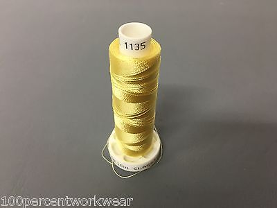 1 x Cop Part Used Madeira Classic 40 Rayon Embroidery Machine Thread Colour 1135