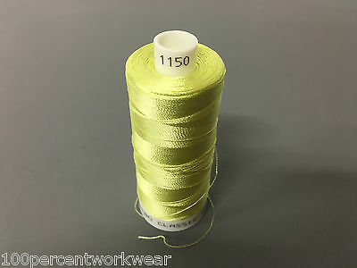 1 x Cop Part Used Madeira Classic 40 Rayon Embroidery Machine Thread Colour 1150