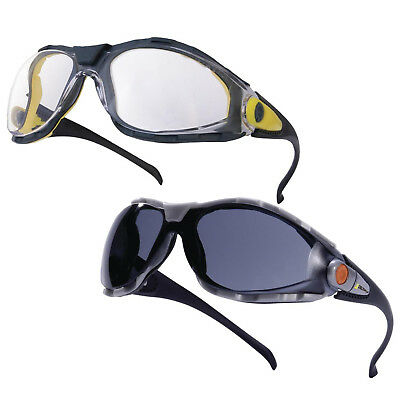 d8420aa68dd 10x Delta Plus PACAYA Safety Specs Glasses Spectacles Eye Protection Clear  Smoke