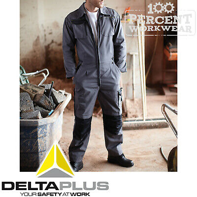 Delta Plus Mechanics Race Engineer Industry Work Boiler Suit Overalls Coveralls