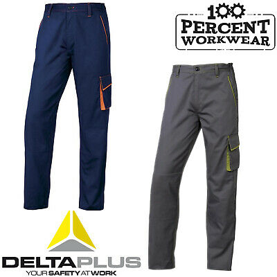 Delta Plus Panoply M6PAN Panostyle Combat Cargo Work Trousers Pants Knee Pockets