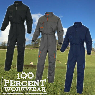 Mechanics Industrial Builders Farmers Delta Plus Overalls Boiler Suit Coveralls