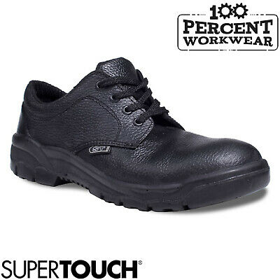 Pro Heavy Duty Simple Effective Safety Work Shoes Mechanics Engineers Tradesman