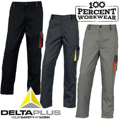 Hard Wearing High Quality Cargo Combat Mens Work Trousers Pants Knee Pad Pockets