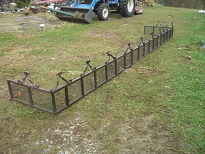 Wrought Iron Fence Scroll Work Railing Porch/Garden Architectural Salvage rare