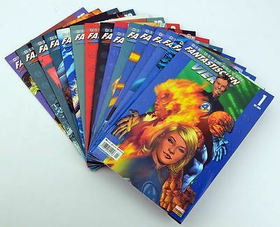 Marvel : Die ultimativen fantastischen Vier Band 1 - 15, Panini