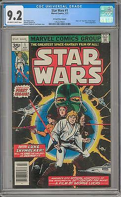 Star Wars #1 35 Cent Variant CGC 9.2 (OW-W)