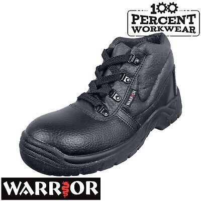 Pro Heavy Duty Mechanics Engineers Builders Trade Safety Chukka Work Boots Steel