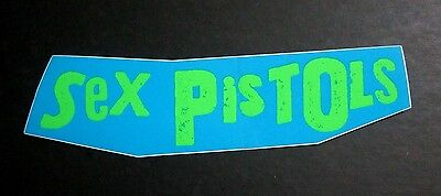 Sex Pistols Promo Sticker U.S. TOUR Sid punk rock filthy lucre