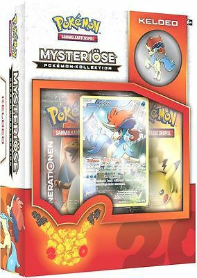 Pokemon Karten: Mysteriöse Pokemon Kollektion - Keldeo Box - DEUTSCH - NEU & OVP