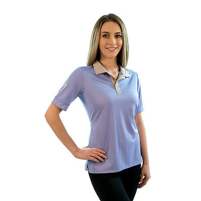 KASTEL  Polo Shirt - Purple/Grey - Different Sizes